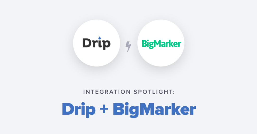 bigmarker-drip-integration