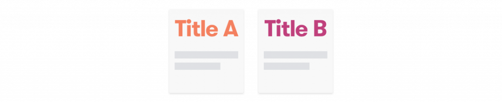 A/B Test Webinar Titles